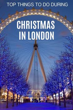 Heading to for Christmas Check out this ultimate list of amazing things to do during Christmas in London! Have a blast during your London holidays! Christmas Travel, Holiday Travel, Christmas 2019, England Christmas, Europe Destinations, Europe Travel Tips, London Christmas Market, Christmas Markets, Things To Do In London