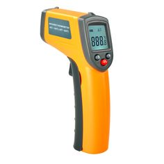 Updated! GS320 Laser LCD Display Digital IR Infrared Thermometer Auto Temperature Meter Gun Non Contact Sensor -50~360 Degree #Affiliate