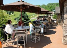 Join us outside for Drinks and Grill Favorites.  Bavarian Beach Grill  www.7springs.com