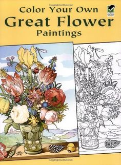 Color Your Own Great Flower Paintings (Dover Art Coloring Book) by Marty Noble. $4.99. Series - Dover Art Coloring Book. Publisher: Dover Publications (June 14, 2004). Reading level: Ages 4 and up. Author: Marty Noble. Publication: June 14, 2004