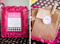 Milk and Cookies Birthday Party :: Sweet Customers | The TomKat Studio
