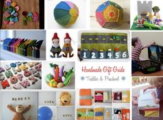 everything i dreamed: handmade gift guide :: toddlers and preschool