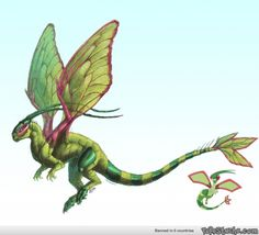 Im doing realistic sketches of my top three favourite Pokémon per type. Starting off with Dragon, heres Flygon!