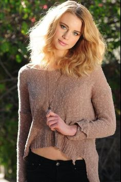 Lucy Fry - I want this jumper!!!