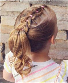 10 Braided Pigtail Styles for Your Girls Style Style When talking about girls hairdo, the braided pigtail will always be the best choice as it has many pretty and … Girls Hairdos, Cute Hairstyles For Kids, Baby Girl Hairstyles, Girl Haircuts, Box Braids Hairstyles, Little Girl Short Hairstyles, Childrens Hairstyles, Woman Hairstyles, Hairstyle For Baby Girl