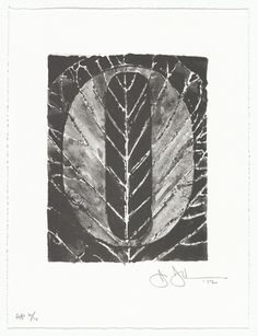 2013 Medium:One from a series of ten lithographsDimensions:composition (each, approx. sheet (each): 10 × × cm)Credit Line:Gift of Universal Limited Art Editions to celebrate the life of Sash A. Jasper Johns, Museum Of Modern Art, Moma, Printmaking, Something To Do, Pop Art, Black And White, My Love, Drawings