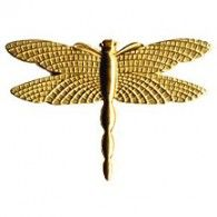 Dragonfly Gold Golden Charms & Embellishments | Hanko Designs