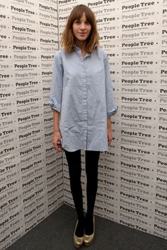 Alexa Chung at the Fair Trade and environmental fashion and lifestyle label's party in London, England | February 16, 2012