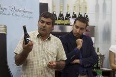 Fernando Piedrabuena ,alma  mater de la empresa, presentando a nuestro benjamín.