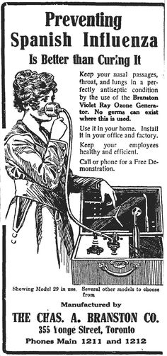 Ad that appeared in an Oct 1918 edition of the Globe. Vintage Advertisements, Vintage Ads, Nasal Passages, Cartoon Photo, Medical Journals, Funny Ads, Canadian History, Vintage Medical, Influenza
