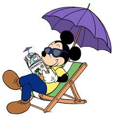 Mickey enjoying his vacation in Jamaica.