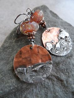 Copper Canyon ... Copper With Silver Solder Charms by juliethelen