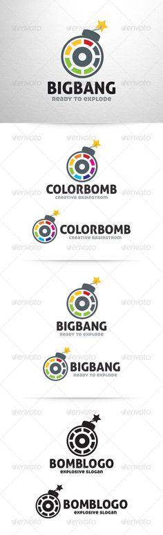 Bomb Logo Template  #GraphicRiver