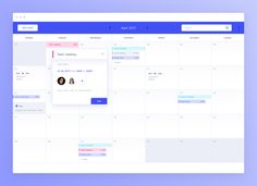 png by Alan Podemski App Ui Design, Dashboard Design, User Interface Design, Modern Web Design, Flat Design, Calendar Ui, Ui Design Inspiration, Data Visualization, Timeline