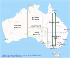 Depiction of #Queensland #land area cleared for #livestock 1988-2008