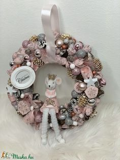 Christmas Wreaths, Christmas Decorations, Holiday Decor, Xmas Crafts, Advent, Winter, Christmas Crafts, Crowns, Winter Time