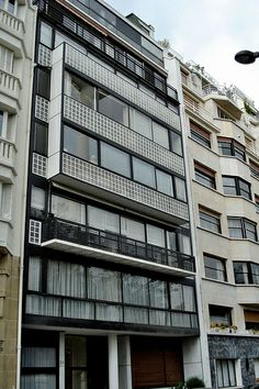 Immeuble Molitor, Paris, 1931-34, le Corbusier and Pierre Jeanneret
