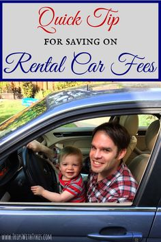 A Quick Tip to Save on Rental Car Additional Driver Fees: How to avoid pesky rental car fees on your family travels.