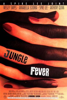 Watch Jungle Fever online for free. Genre: Romance, Drama on List of Actor: Wesley Snipes, Annabella Sciorra, Spike Lee Iconic Movie Posters, Iconic Movies, Great Movies, Awesome Movies, 90s Movies, Classic Movies, Throwback Movies, Samuel Jackson, Halle Berry