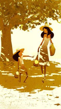 Anneka Tran. #illustration #art