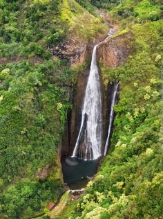105 world's most amazing waterfalls: Manawaiopuna Falls, Hawaii, USA