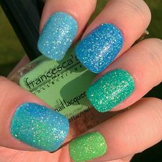 Sparkly nails ~ just can't get enough!