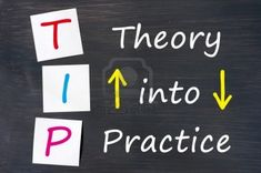 Learning the theory is fine. But what happens when you apply it in practice?
