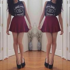 What 10 Things NOT to Wear on Your First Date omgggg i would soooo wear this outfit ahhh
