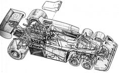 Tyrrell P34 cutaway
