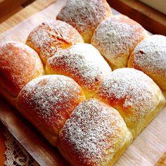 レモンチーズカスタードクリームのレモンちぎりパン
