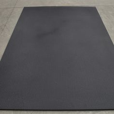 "1//2/"" X 4/' X 6/' Ader Rubber Gym Equipment Mat"