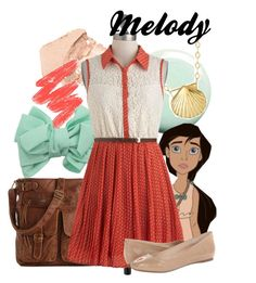"""Melody"" by amarie104 ❤ liked on Polyvore featuring Paul & Joe, Topshop, Mix No. 6, Disney, Reeds Jewelers and Sam Edelman"