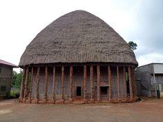Chief's Palace in Bandjoun, western Cameroon
