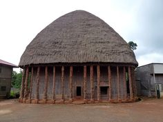 Chief's Palace in Bandjoun, western Cameroon