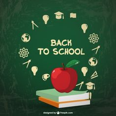 Back to school vector infographic