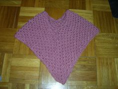 pink poncho for girls