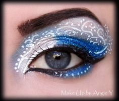 Blue snow http://www.makeupbee.com/look.php?look_id=61471