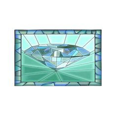Mosaic Green Diamond Stained Glass Window with Frame Placemats Table Mats for Dining Room Kitchen Table Decoration inch,Set of 6 Kitchen & Dining Room Tables, Kitchen Linens, Room Kitchen, Blue Mosaic Tile, Linen Placemats, Green Diamond, Stained Glass Windows, Environment, Stains