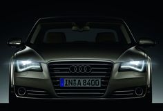 Audi's have such cool headlights