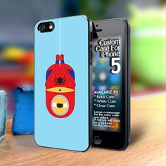 Spiderman Superhero minion Iphone5 case