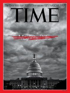 Time magazine government shutdown cover.