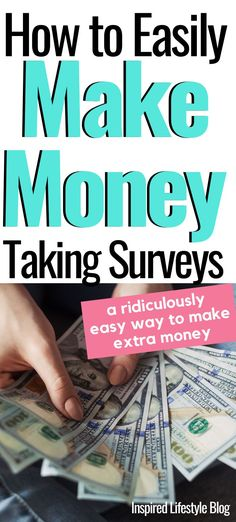 How to Easily Make Money Taking Surveys - Make Money Doing Surveys, Surveys For Money, Paid Surveys, Make Money Blogging, Make Money Online, Money Tips, Online Survey Sites, Online Surveys That Pay, Survey Sites That Pay