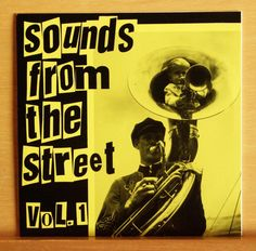 VA Sounds from the Streets Vol.1 - Limited Vinyl 7  Punk EP La Secta Broken Toys