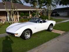 '72 Stingray Corvette