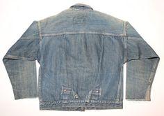 Levi Strauss 506xx Denim Jacket, c1910's