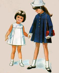 1960s Vintage Sewing Pattern McCalls 8136 Childs A by sandritocat, $12.00