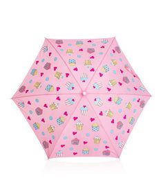Love this Pink Cupcake Color-Changing Umbrella on #zulily! #zulilyfinds