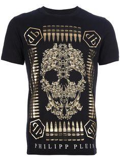 PHILIPP PLEIN 'Bullet Proof' Printed T-Shirt
