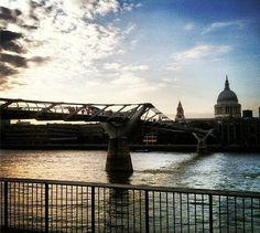 """London Dusk"" Student Photo in London."