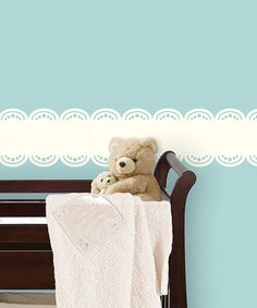 Take a look at this White Stripe Wall Decal by WallPops! on #zulily today!